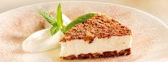 Un relleno delicioso con un toque crujiente que te encantará, prueba esta receta de cheesecake de galletas de chispas de chocolate y yoghurt.