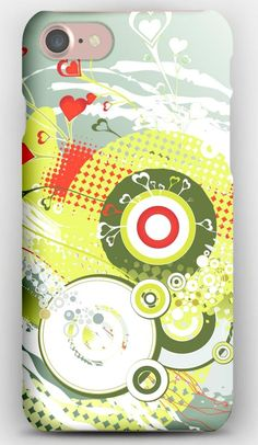 iPhone 7 Case Headphones, Paint, Stains