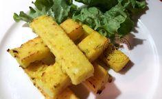 Frites de polenta au parmesan et aillet – Cuisine de Gut