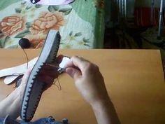 Cizme crosetate - Partea I