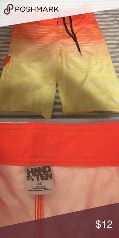 Hang ten board shorts 30 waist Hang ten board shorts 30 waist hang ten Swim Board Shorts