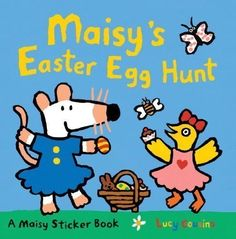 Maisy's Easter Egg Hunt [With Sticker(s)] (Maisy Sticker Book) by Cousins, Lucy (2012) http://www.easterdepot.com/maisys-easter-egg-hunt-with-stickers-maisy-sticker-book-by-cousins-lucy-2012/ #easter