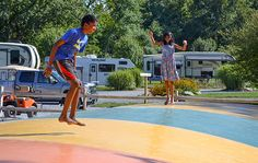 Family-friendly activities at Yogi Bear's Jellystone Park in Hagerstown, MD