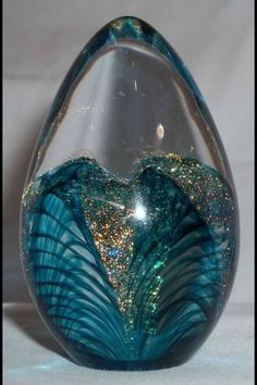 Beautiful Turquoise Paperweight