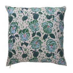 *This item is currently backordered. Estimated shipping: May 1st* Our pillow line reflects the same bold color combinations and scale found in Lulie's original works of art. Produced locally in the Carolinas, each design has been carefully crafted from original sketches and paintings. Tokeep up with what's going on in