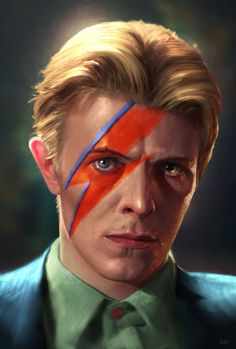 Amazing #Bowie fan art!
