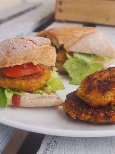 Burgery z soczewicy i cukinii  #Vegan #burgery