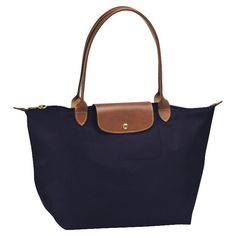 Le Pliage bag longchamp in navy $145