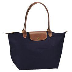 Le Pliage bag longchamp in navy $145