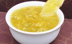 .receita. Geleia de laranja com gengibre