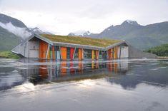 'gullesfjord weight control station' by jarmund/vigsnaes arkitekter, gullesfjord, troms, norway.