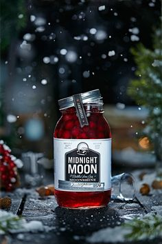 Holiday photography for Midnight Moon Moonshine. Art direction, prop styling, and photography by Vanessa Rees of V.K.Rees.