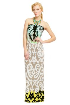 Love this dress I want to get it. RTR  Tibi Dubai Desert Maxi