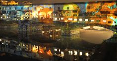 https://flic.kr/p/BW4ah6 | Firenze - Old bridge - Florence Ligths Festival 2015 - Van Gogh | OLYMPUS DIGITAL CAMERA