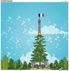 Souvenirs de Paris. Avant Noël
