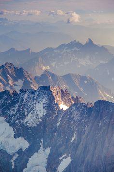 North Cascades of Washington.