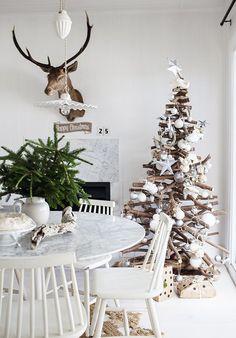 Simples de Natal Decoração da árvore de ideias Início