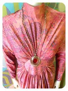 Items similar to Vintage Geometric Psychedelic Bubblegum Pink Purple Hippie Maxi Long Dress. Sizs S - M on Etsy Bubble Gum, Psychedelic, Etsy Shop, Trending Outfits, Unique Jewelry, Handmade Gifts, Shopping, Clothes, Vintage