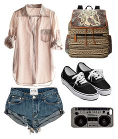 """""""Untitled #2537"""" by picky-picky ❤ liked on Polyvore featuring мода, LULU, Love Sam, Vans и Zero Gravity"""