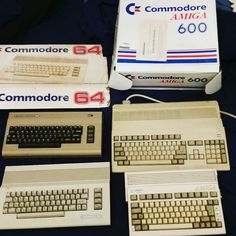 On instagram by maso_nero #amiga500 #microhobbit (o) http://ift.tt/1S578DP working after all these years   #amiga  #amiga600 #commodore #commodore64
