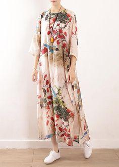 Long Summer Dresses, Simple Dresses, Casual Dresses, Long Dresses, Mode Batik, Modest Fashion, Fashion Outfits, Floral Fashion, Mode Abaya