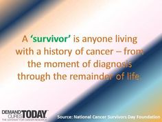 I became a survivor on my date of Bilateral Mastectomy ( the date I use Dec 13,2011)