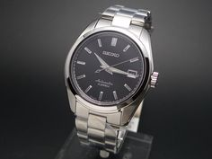 SEIKO Automatic SARB033. Black face, new at 380, from seiyajapan.com