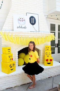 Emoji Birthday Party By Bloom Designs