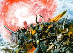 Chaos Warriors on the March