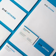 Rebrand and new site launched for our friends at D+R Lathian. Check out drlathian.com to see the new site! #branding #rebrand #webdesign #logo #logodesign