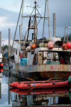 Fishing boat in Sitka, Alaska