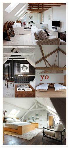 attic, combles, ático