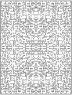 Creative Haven 3-D Techellations Coloring Book