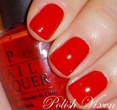 OPI...Big Apple Red (my all time fave OPI color!!)