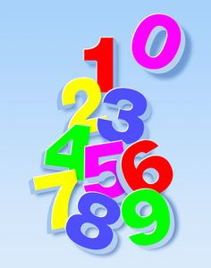 Children's Room 3D Numbers Fine Art Print by EscapeModulePrints, $20.00