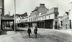 Argyle Street, The Rocks, (Photo: NSW Government Printing Office, September State Records NSW) Open Gallery Old Pictures, Old Photos, Vintage Photos, Sydney Australia, Western Australia, The Rocks Sydney, Argyle Street, Australian Photography, Colonial Art