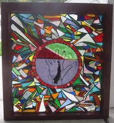 No Ducks and Bunnies: Mosaic Glass Windows (
