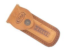 Case XX Trapper Sheath Fits 425 long Folding Hunting Knife  brown leather ** You can find more details by visiting the image link.Note:It is affiliate link to Amazon.