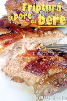 Reteta de friptură fragedă de porc cu bere si ceapa (la cuptor). Chicken, Kitchen, Food, Cooking, Kitchens, Essen, Meals, Cuisine, Yemek