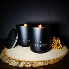 (Pack of 2) Minimal Black Pearl Luxury Candle Duo. Premium Handmade Gourmet Luxury candle - (Pack of 2)Minimal Black Pearl Luxury Candle Hand-Made Eco-friendly 100% paraffin-free Soy Wax Wooden Wick Matt Black Luxury glass vessels Burn Time 80 + hours Net weight 14 + 14 oz Premium quality artist hand formulated fragrance oils. Responsibly sourced Ingredients to delivery - We are 100% Carbon Neutral MPN: AG3X2 Gourmet Luxury Candles Each Luxury Gourmet candle is precisely handmade at home, from C Carbon Neutral, Best Fragrances, Black Luxury, Luxury Candles, Glass Vessel, Handmade Candles, How To Get Rich, Fragrance Oil, Scented Candles