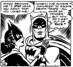 Vintage Batman Comic