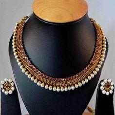 Vastradi Elegant Polki Necklace Set!  #necklaceset