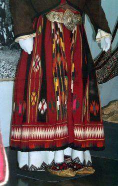 Woman's Skirt, Ethnographic Museum, Belgrade, Serbia