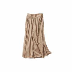 艶、色味、柔らかさに惹かれたスカーチョ