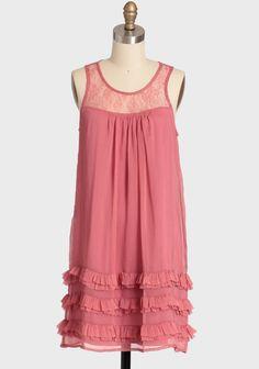 Together Again Chiffon Dress | Modern Vintage Affordable & Adorable | Modern Vintage Features