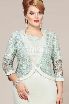 Модель 3691 серо-салатовый Mira Fashion (крупно)