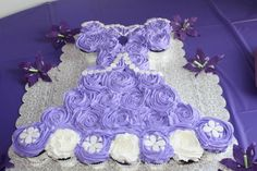 - This is a cupcake cake replica of Disney's Sophia the first princess dress. It matched my daughters dress for her princess party.