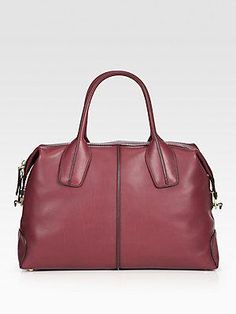 Tods Bauletto large media #satchel #handbag