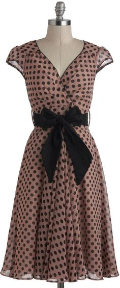polka dot dress...love it!!