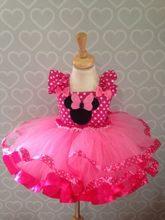 Minnie Mouse tutu vestido/minnie mouse por Tutucutebowtique16…